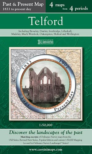 Cassini Telford Map Cover Iamge